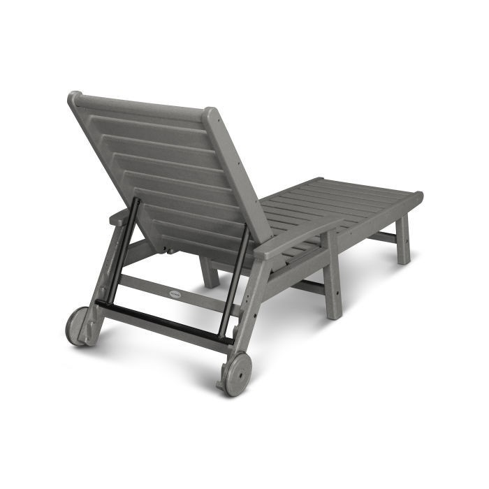 Polywood Signature Chaise with Wheels