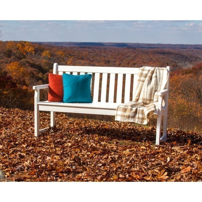 """Polywood Traditional Garden 60"""" Bench"""