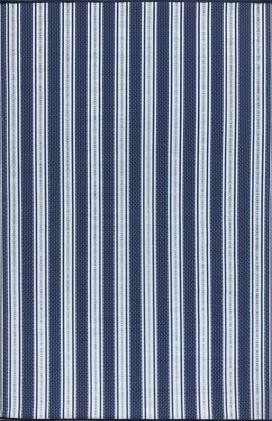 Blue/White Vertical Stripes