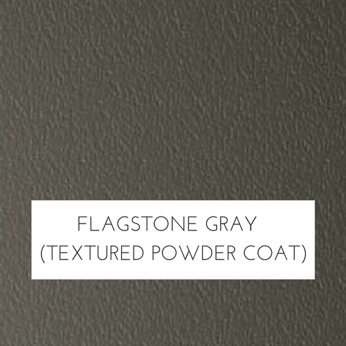 Flagstone Gray Textured Marine Polymer Frame Finish