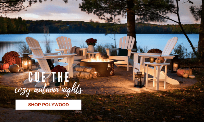 polywood adirondacks, outdoor patio furniture, outdoor gas fire tables