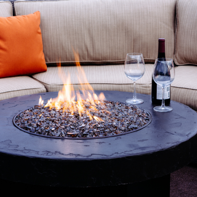 Oriflamme Savanna Stone Fire Table