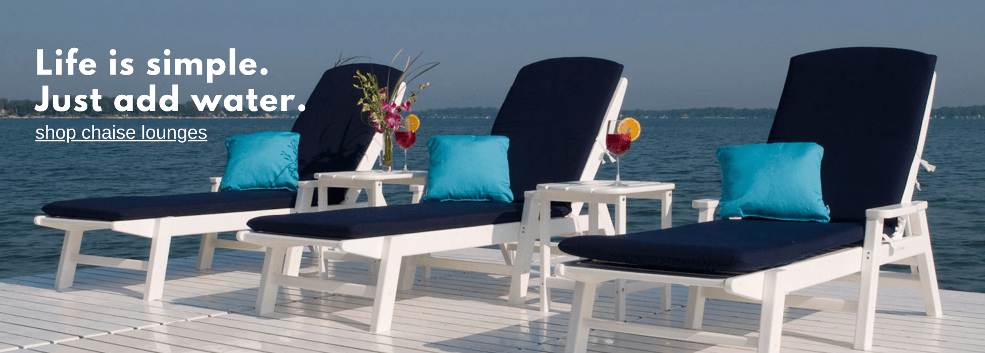 Polywood Chaise Lounge Chairs